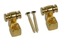 Wholesale Guitar Press - 4 PCS electric guitar neck ball press button Roller pressure string device Steady string buckle String screw String guide roller