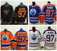 Wholesale Fashion World Men - 2016 World Cup North America Ice Hockey Jerseys Black Edmonton Oiler 97 Connor McDavid Jersey Men Fashion Best All Stitched Quality