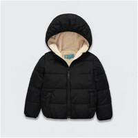 Wholesale Babys Coats - The New Kids Winter Coats Children Cotton Winter Children's Clothing Boys And Girls Hooded Clothes Babys Coat Jacket Coat Outerwear