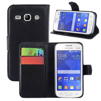 Wholesale Galaxy Ace X - Mix order discount pu leather wallet case + PC bracket cover for Samsung galaxy J1 Mini J1 Ace Z3 X cover 3 Grand 3 Star 2 plus Core LTE