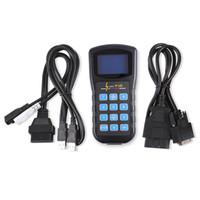 ferramenta de programador chave audi venda por atacado-Supe e menor preço super v k pode 4.8 comandante Odômetro Ferramenta de Correção Airbag Reset ferramenta programador Chave Para AUDI VW Skoda DHL livre