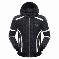 Wholesale Cool Skull Designs - 2018 winter top design famous brand new long sleeve outdoor cool comfortable coat for men fashion trend windbreaker with skull printed 610