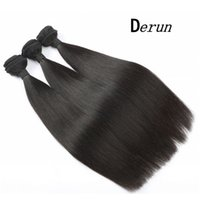 Wholesale grade 6a human hair online - Grade A B Natural Color Unprocessed Remy Human Hair Peruvian Straight Hair Extensions inch No Tangle