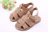 Wholesale New Baby Patchwork - 2015 New Arrive Baby Boys Girl Summer Shoes Baby Shoes Toddler Non-slip Rubber Sole Shoes First Walkers Free shipping