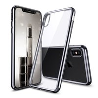 Wholesale Crystal Clear Iphone5 - Crystal Transparent Clear TPU Cover Shell for Iphone X Iphone 10 Cases Flexible Skin Ultra Thin for Iphone5 7 8