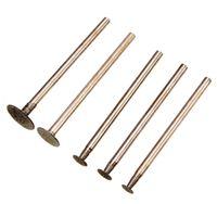 Wholesale construction power tools - 5pcs set Diamond Tools For Granite Diamond Grinding Wheel For Dremel Rotary Tool Diamond Burs Dremel Tools Accessories