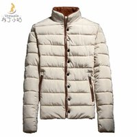Wholesale Teenage Male Fashion - Fall-2016 new winter male wadded jacket male teenage short design thickening cotton-padded jacket male winter outerwear cotton-padded