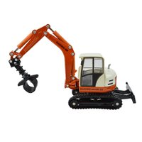 Wholesale Toy Cars Wooden Tracks - Grab wooden truck excavating machinery tracked grasping cart alloy crane truck children car toy 1:50 kid toys gift