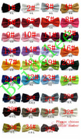 Wholesale Mens Silk Cravats - New 2017 Formal Solid Color Adults Bow Tie Male Party Wedding Mens Bow Ties Butterfly Cravat Bowtie Butterflies Ties for Men