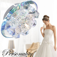 Wholesale Nature Crystal Sale - Han Lu flash sale of high-end LED corridor lamp lamp round hall porch lamp crystal lamp balcony lamp