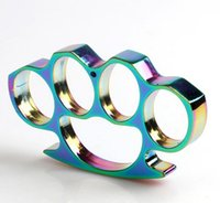 Wholesale HOT SELL NEW TITANIUM HEAVY DUTY BUCKLE BRASS KNUCKLE DUSTER