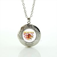 Wholesale Sports Body Jewelry - Modern body jewelry locket necklace Newest 32 sport rugby silver plated accessory present for friend at party or wedding NF091