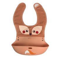 Wholesale Wholesale Infant Pocket Bibs - Baby cartoon animal design eat pocket baby waterproof prevent dirty silicone feeding newborn saliva towel infant bibs burp cloths R0067