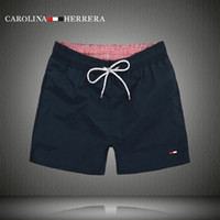 Wholesale Summer Swimwear Men - Wholesale-2016 new Brand Board Shorts Men Summer Beach Shorts High-quality Swimwear Bermuda Male Letter Surf Life Men Swim