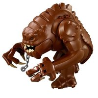 Wholesale 80pcs PG634 Star Wars minifigure Jabba s Rancor Building Block Collection Best Children Gift Toy
