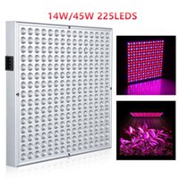 Wholesale Smd 3528 Growing Plants - 45W SMD 2835 14W SMD 3528 LED Grow Light Panel Lamp for Hydroponics Indoor Flower Vegetable Plant Full Spectrum Led Grow Light