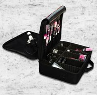 Wholesale Tattooing Tool Box - Large Capacity Multilayer Clapboard Cosmetic Cases Professional Makeup Tools Organizers Bag Portable Manicure Tattoo Makeup Kit