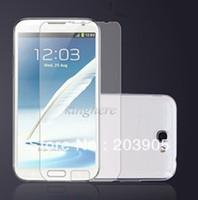 Wholesale Galaxy Note Ii Screen Protector - 1000pcs Clear New Clear LCD Protective Screen Protector for Samsung Galaxy Note 2 II N7100 free shipping