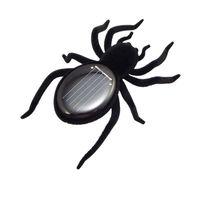insectes robot achat en gros de-Éducatif robot effrayant insecte gadget astuce solaire spider tarentule solaire jouet juegos solares enfants jouet jouet Robot