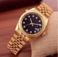 Wholesale Daily Watch - relogio masculino 40 mm gold brand automatic daily watch and luxury fashion quartz clock women and men's sports watch gifts couples