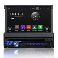 Wholesale radio dvd tv usb gps - Quad Core quot HD Din Android Universal Car DVD Video Player Radio Audio Stereo Screen PC USB FM BT G G WIFI GPS Map