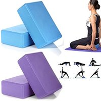 Wholesale Pilates EVA Yoga Block Brick Foam Sport Exercise Fitness Workout Stretching Aid Body Shape Health Tools