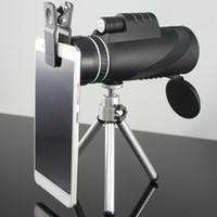 Wholesale Powerful Binoculars - High Quality 40x60 Powerful Binoculars Zoom Binocular Field Glasses Great Handheld Telescopes Military HD Professional Hunting