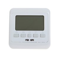 Wholesale Digital Display Thermostat - Weekly Digital Heating Thermostat Green LCD Display Programmable Room Floor Powerful Anti Jamming for Room Temperature Control