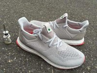 Wholesale Gray Canvas Fabric - Hot Solebox Consortium Ultra Boost UNCAGED Gray Red S80338 Sneakers Men's Ultra Boost women's Casual Shoes Breathable Running Shoes With Box