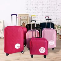 Wholesale Wholesale Travel Trolley - Hot Fashion Travel on Road Luggage Cover Protective Suitcase cover Trolley case Travel Luggage Dust cover for 18 to 30inch