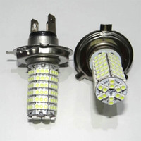 8pcs H3 H4 H7 9005 9006 120 SMD 3528 Avant de voiture LED Fog Phare Lampe High Beam 12V White Car Light Led Ampoule