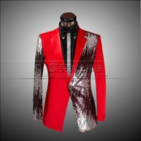 Wholesale Male Straight Jacket - Jacket+Pants+Bowtie 2016 Top Quality Custom Mens Suits Blazer Fashion Slim Fit Wedding Prom Business Black Red Male Tuxedo