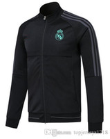 Wholesale america jacket - 2017 2018 Real Madrid Jacket Hoodie 17 18 tracksuits AAA+ training suits Club America Soccer Jersey Maillot de foot N98 shirt