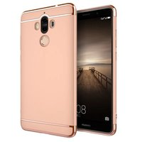 Wholesale Nova Pc - Electroplating Ultra-thin Defender Case Full Protector 3 in 1 PC Case Cover For Huawei Honour 9 8 V9 5X 6X Nova Vivo V3Max Y51 Y66 Y67