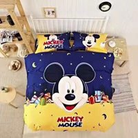 Wholesale Cartoon Mickey four pieces of blanket quality assurance