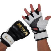 Wholesale kids mma gear for sale - Group buy Kids Women Men Half Fingers Boxing Gloves Sandbag For Bag Punch Training Fight Muay Thai Boxeo Mma T0307dae