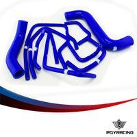 Wholesale Impreza Kit - PQY STORE-Blue Silicone Radiator Hose Kit for Subaru Impreza GDB GDA 2.0 WRX STI 2000-2009 9PC VR-LX-1803C-BL