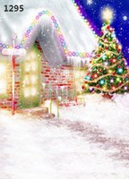 Wholesale Children S Christmas Photography - Camera Photo Backgrounds 220CM * 150CM new2014 vinyl photography backdrops photo studio photographic background Christmas holiday snow s-3