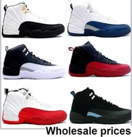 Wholesale Product Copy - Wholesale Air Retro 12 Blue Retro Playoff Gamma Blue The Master Taxi PS Men Size Top copy Basketball Shoes products