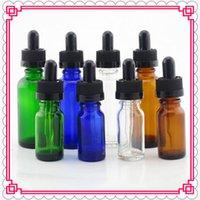 ingrosso ecig pet-Flacone in vetro PET da 30ml con contagocce in vetro purissimo bottiglia ecig per sigaretta elettronica sigaretta ego e