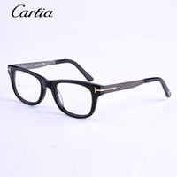 Wholesale Designer Optical Eyewear - brand designer Eyeglasses Optical Frames tf 5197 black glasses unisex eyeglasses Coolclassic fashion Eyewear A variety of colors glasses