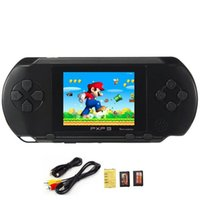 Wholesale Usb Games Player Screen - 2017 Game Player PXP3(16Bit) 2.5 Inch LCD Screen Handheld Video Game Player Console 5 Colors Mini Portable Game