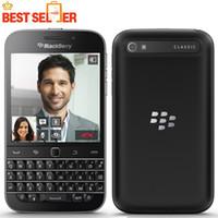 ingrosso telefono da 3,5 pollici-Cellulare originale BlackBerry Q20 classico 4G LTE BlackBerry da 2 GB RAM 16 GB ROM Cellulari dual core 8MP da 3,5 pollici NFC HDMI DLNA WLAN