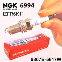 Wholesale Ngk Plugs Japan - 6.pcs NGK 6994 IZFR6K11 9807B-5617W Spark Plugs Laser Iridium Made in JAPAN