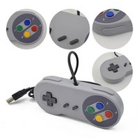 Wholesale controller joystick wired for sale - Group buy Snes Classic GamePad Joystick Joypad Controller USB Port Wired Gamepads For SNES Style Games For Windows PC Tablet In Stock