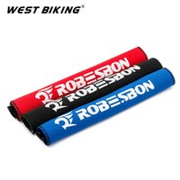 Wholesale Bike Chain Guard Cover - 1pair  2pcs Bicycle Chain Protector Bike Frame Protection Cycling Chain Cover Guard black red blue