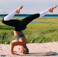 ingrosso i pantaloni di yoga ballano sexy-Elastico in vita Abbigliamento da palestra Articoli da yoga Pantaloni da fitness Leggings da cuore sexy Collant elasticizzati con pantaloni da ballo