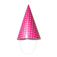 Бумага Birthday Party Cap Hat Конус в случайном порядке Dot Pattern 42.6cm x24cm (16 6/8