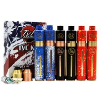 Wholesale tvl kits for sale - Group buy High Quality TVL Colt Mod Starter Kit TVL Mechanical Mod tube with TVL RDA atomizer