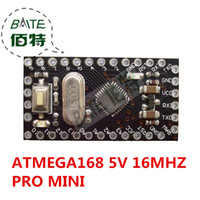 Wholesale Arduino Pro - Wholesale-10pcs Pro Mini 168 Mini ATMEGA168 5V 16MHz For Arduino Compatible With Nano